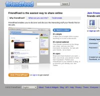 friendfeed.com screenshot