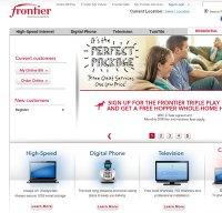 frontier.com screenshot