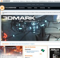futuremark.com screenshot