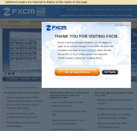 fxcm.com screenshot