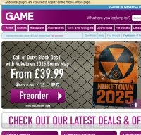 game.co.uk screenshot