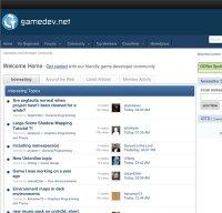 gamedev.net screenshot
