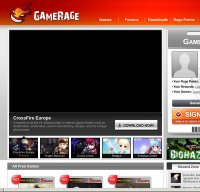 gamerage.com screenshot