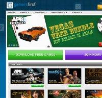 gamersfirst.com screenshot