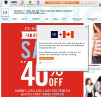 gap.com screenshot