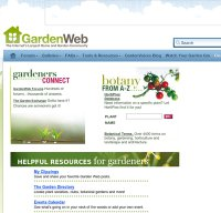 gardenweb.com screenshot