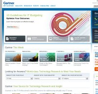 gartner.com screenshot