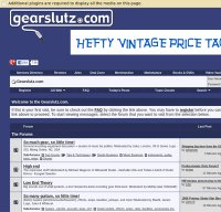 gearslutz.com screenshot