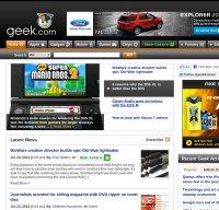 geek.com screenshot