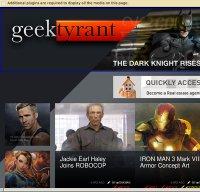 geektyrant.com screenshot