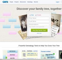 geni.com screenshot