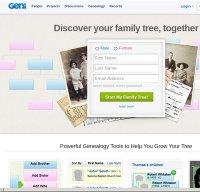 geni.com screenshot