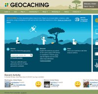 geocaching.com screenshot