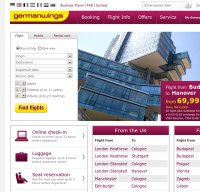 germanwings.com screenshot