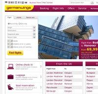 germanwings.com screenshot