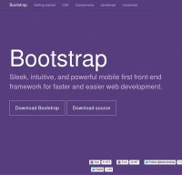 getbootstrap.com screenshot