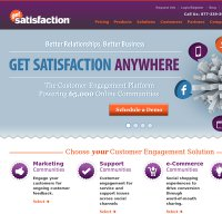 getsatisfaction.com screenshot