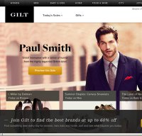 gilt.com screenshot