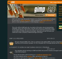 gimp.org screenshot