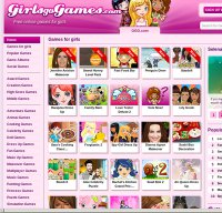 girlsgogames.com screenshot