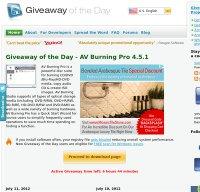giveawayoftheday.com screenshot