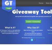 giveawaytools.com screenshot