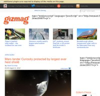 gizmag.com screenshot