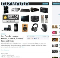gizmodo.com screenshot