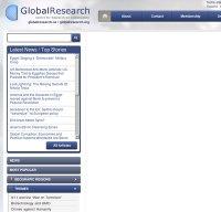 globalresearch.ca screenshot