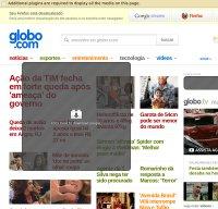 globo.com screenshot