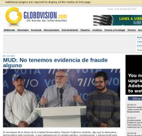 globovision.com screenshot