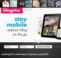 glogster.com screenshot