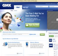 gmx.com screenshot