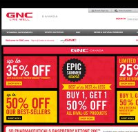 gnc.com screenshot