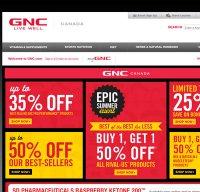 gnc.com screenshot
