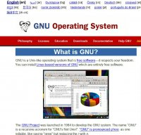 gnu.org screenshot