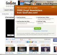 godtube.com screenshot
