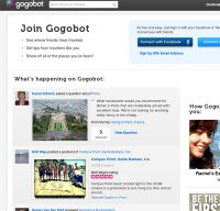 gogobot.com screenshot