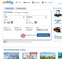 goibibo.com screenshot