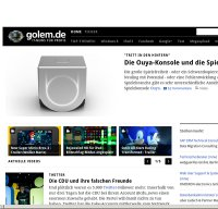 golem.de screenshot