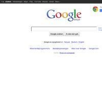 google.be screenshot
