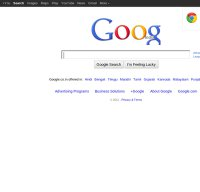 google.co.in screenshot
