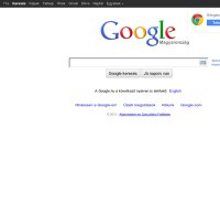 google.hu screenshot