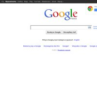 google.pl screenshot