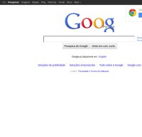 google.pt screenshot