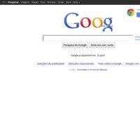 google.pt screenshot
