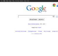 google.se screenshot
