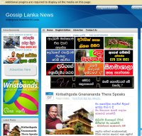 gossiplankanews.com screenshot