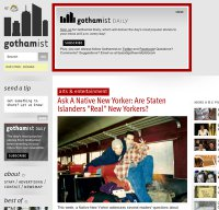 gothamist.com screenshot