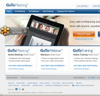 gotomeeting.com screenshot